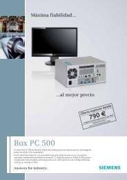Oferta especial 'BOX PC 500' - Carol Automatismos Igualada SA