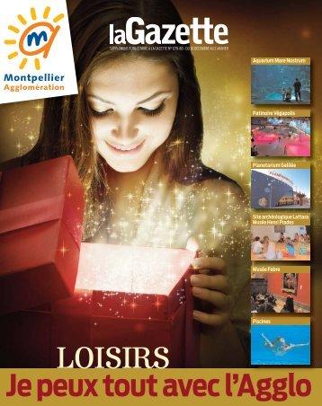 Supplément Gazette de Montpellier Noel 2012