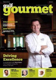 driving excellence - The Emirates Culinary Guild