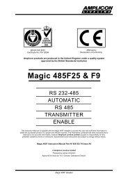 Magic 485F25 & F9 - ICSDataCom
