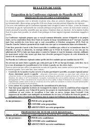 Bulletin de vote (PDF - 18.9 ko) - Fédération de l'Oise du PCF