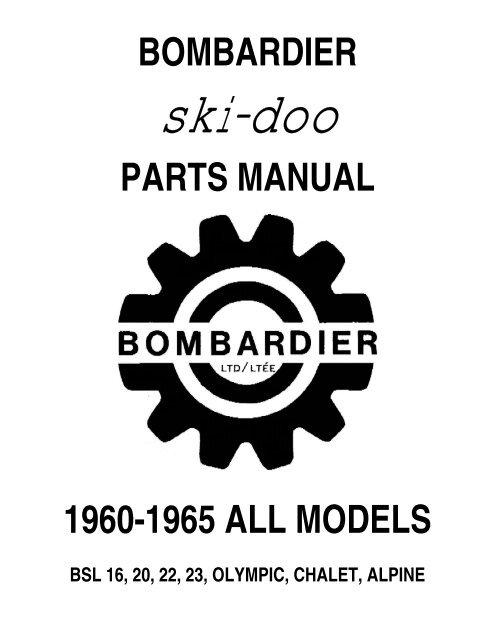 Vintage Ski-Doo   Axle Bearing//Seal kit