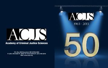 Download - Academy of Criminal Justice Sciences