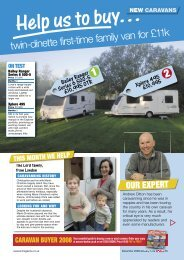 2008Your essential guide to buying a new or ... - Bailey Caravans