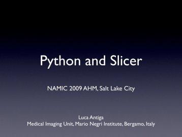Python and Slicer