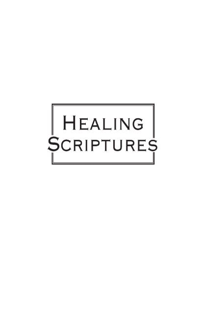 Healing Scriptures From Joyce Meyer Ministries Faith And