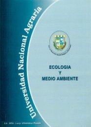 ECOLOGIA Y MEDIOAMBIENTE - Centro Nacional de Información y ...