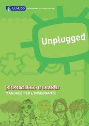 Manuale Unplugged per l'insegnante - Agenzia di Sanità Pubblica ...