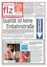 Sag beim Abschied... - Zentralverein der Wiener Lehrerschaft