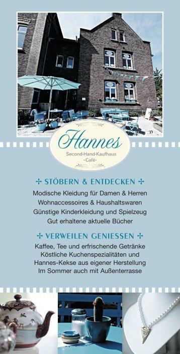 Hannes-Flyer (PDF) - Malteser-Johanniter-Johanneshaus