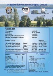 1st Finland International Digital Circuit Calendar - Suomen ...