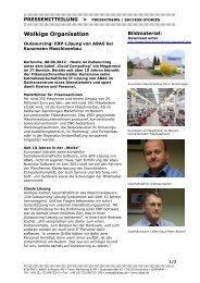 Outsourcing: ERP-Lösung von ABAS bei ... - blechzulieferer.de