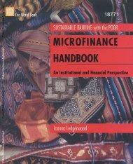 microfinance handbook.pdf - Khazar University