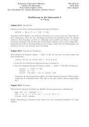 Einführung in die Informatik 2