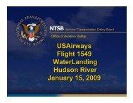 USAirways Flight 1549 WaterLanding Hudson River January 15, 2009