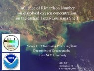 influence of richardson number on dissolved oxygen concentration ...