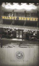 View our Menu - Walnut Brewery