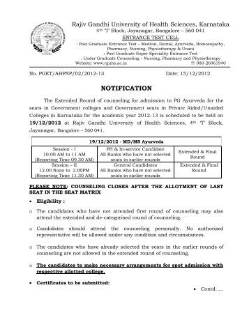 rajiv gandhi medical university thesis The rajiv gandhi university of health sciences (rguhs) has decided to make life easier for its phd students it has gotten rid of the need to print, bind and co help with research papers phd thesis dissertation rguhs research paper pages a g requirements for college/10(.