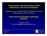 Experimental- theoretical study of Spray combustion in the small Jet ...