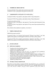 1. NOMBRE DEL MEDICAMENTO Lansoprazol STADA 15 mg ...