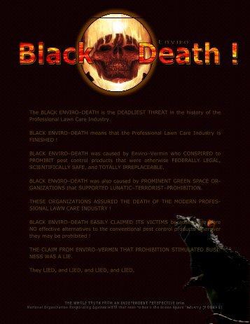 2011 01 31 — Terror NEVER Ends - Pesticide Truths