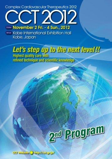 2nd Program 2nd Program - CCT