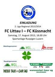 FC Littau I – FC Küssnacht