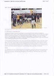 Bericht Fussballn.de Lotto Bayern Hallen Cup 2014 - 1. FC Heilsbronn