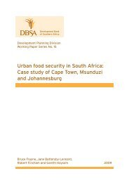 Urban food security in South Africa: Case study of Cape ... - alnap