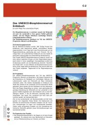 C-2 Das UNESCO-Biosphärenreservat Entlebuch - Seco
