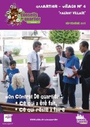 Journal du Quartier-village 04 - Ville d'Agen