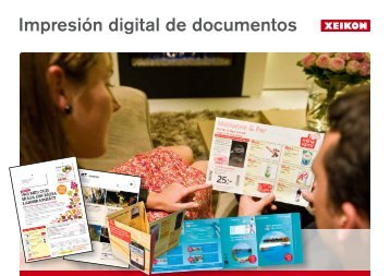 Impresión digital de documentos - Xeikon