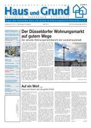 Ausgabe 03/11, PDF, 3.8 MB - Haus und Grund Düsseldorf