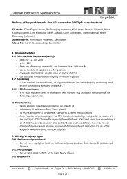 Vis dokument - Danske Baptisters Spejderkorps