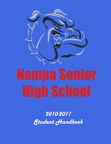 Nampa High School 2010 11 Handbook Final - NSD Main