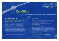 Zertifikat - Neudorff