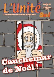Numéro 933 du 15 décembre 2009 - Solidaires Finances publiques