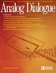 Analog Dialogue