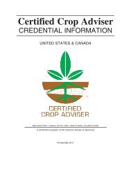 United States and Canada - Certified Crop Adviser (PDF