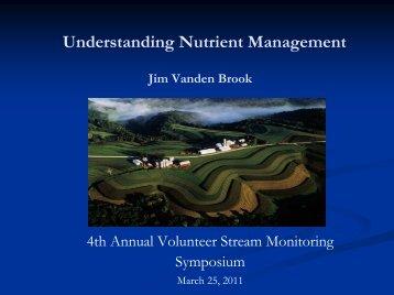 Understanding Nutrient Management Plans