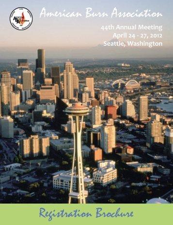 44th Annual Meeting April 24 - American Burn Association