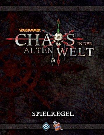 Chaos in der alten Welt - Heidelberger Spieleverlag