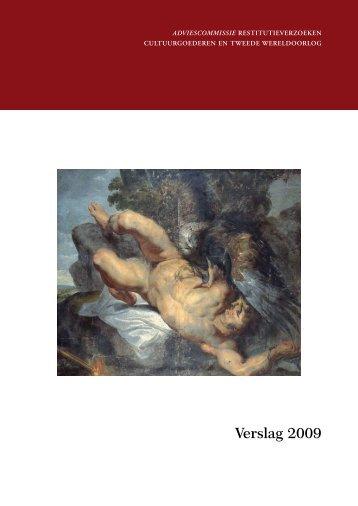 Verslag 2009 - Restitutiecommissie