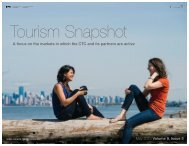 May 2013 - Canadian Tourism Commission - Canada