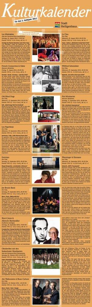 ulturkalender - Stadt Heiligenhaus