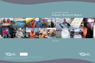 Industry Research Report - Scottish Salmon Producers' Organisation