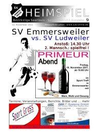 """Download """"HEIMSPIEL"""" Ausgabe 9 - Förderkreis Emmersweiler eV"""