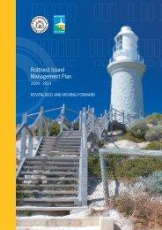 Rottnest Island Management Plan 2009-2014