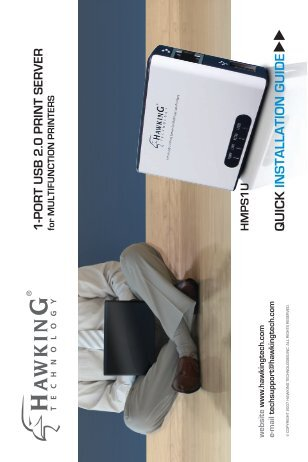 1-PORT USB 2.0 PRINT SERVER for ... - What's New with Hawking