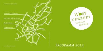 programm 2013 - Lindenberg